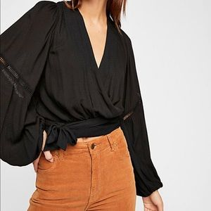 Dream Girl Wrap Top Free People